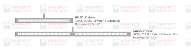 BSLED Bulb Schematics